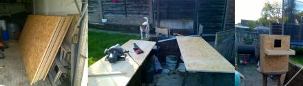 build boxes